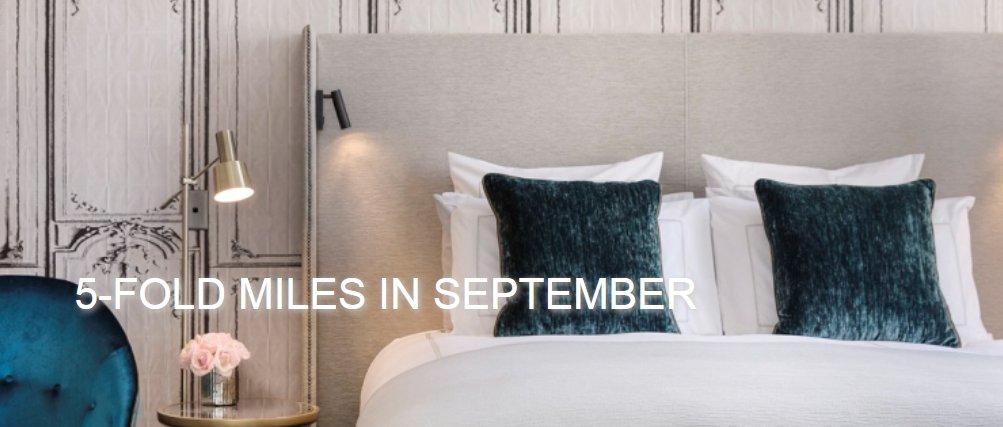 Le Club AccorHotels : รับไมล์สะสม Miles & More เพิ่มขึ้น 5 เท่า เมื่อเข้าพัก 1 ครั้งระหว่างวันที่ 1 ก.ย. – 31 ต.ค. 61