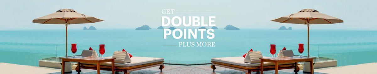 IHG Rewards Club : รับคะแนนสองเท่าและโปรโมชั่นโบนัสส่วนตัว 16 ก.ย. – 16 ธ.ค. 61