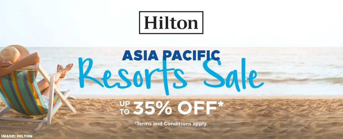 Hilton Honors ส่วนลดสูงสุด 35% เมื่อเข้าพักในเอเชียแปซิฟิก ถึง 2 ก.พ. 2020