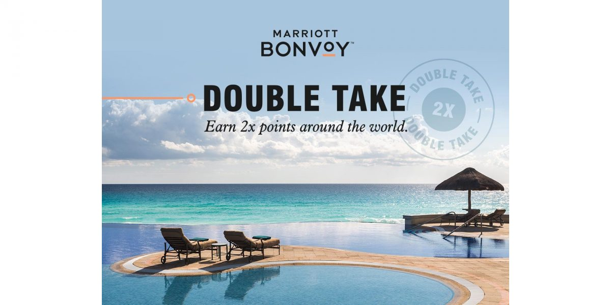 Marriott Bonvoy จัดโปรโมชั่น Double Take รับคะแนนสะสมสองเท่า ถึง 4 มิ.ย. 62