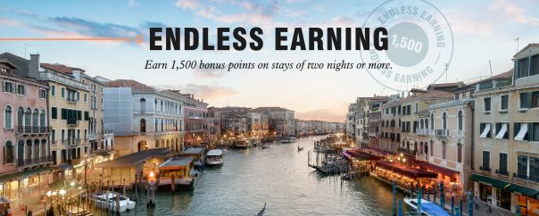 Marriott Bonvoy : Endless Earning ถึง ก.ย. 62