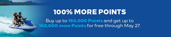 Hilton Honors โปรโมชั่น รับคะแนนโบนัส 100% เมื่อซื้อคะแนนสะสม ถึงวันที่ 27 พ.ค. 63